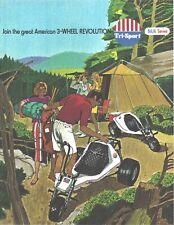 Tri-Sport AlSport Promark BAJA Series 3 Wheeler Brochure '70s VINTAGE Never USED