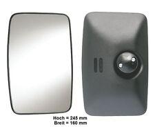 Außenspiegel Spiegel Wohnmobil L.LKW Kasten T1 Bus 245x160mm ø 10-23mm Beheizt