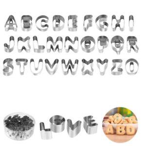 Formine E Stampi Alfabeto Per Biscotti Acquisti Online Su Ebay