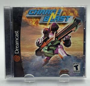 Charge N Blast for SEGA Dreamcast Complete CIB NTSC By Xicat Charge'n Blast