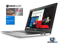 """Dell Inspiron 15.6"""" FHD Laptop, Ryzen 5 2500U, 16GB DDR4, 1TB SSD, W10H (WHT)"""