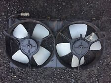 TOYOTA MR2 MK1 RADIATOR COOLING FANS in Very Good condition AW11