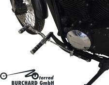 REPOSE-PIEDS 30 cm présenté pour Honda VT 750 S RC58 noir/chrome avec ABE