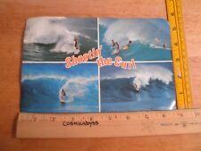 Hawaii 1968 oversized surfing postcard Shootin' the Curl Surfer Surf