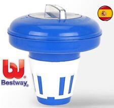 Dosificador cloro flotante Bestway Flowclear para piscinas pastillas de cloro
