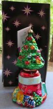 Christopher Radko Christmas Ornament O Tannenbell Tree & Bell Mint w Box