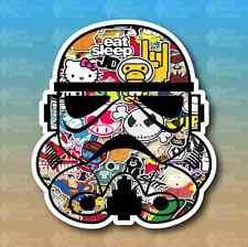 """Storm Trooper Stickerbomb Sticker Bomb 5"""" Euro Custom Vinyl Decal Sticker JDM"""