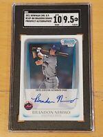 Brandon Nimmo 2011 Bowman Chrome SGC 9.5/10 Auto RC Rookie Autograph PSA ?