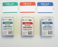 600 Hello My Name Is Name Tags Labels Badges Stickers Peel Stick Adhesive
