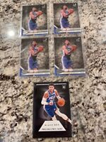 2019-20 Panini Matisse Thybulle 5 CARD ROOKIE LOT Rookie RC 76ers