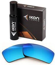 Polarized IKON Iridium Replacement Lenses For Oakley Gascan Ice Blue Mirror