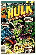 INCREDIBLE HULK #210 (FN-) DOCTOR DRUID Cover Story Appearance! 1977 Marvel