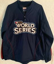2009 World Series Baseball Yankees Authentic Cool Base Jacket New With Tags