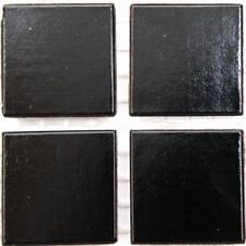 vitrifiée verre mosaïque Tuiles 20mm - Noir