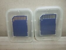 LOT OF 2 New BLUE 16GB = 32GB SDHC SD FLASH Memory MEDIA Card CLASS 6 CAMERA ETC
