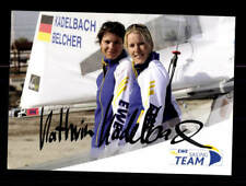 Kathrin Kadelbach und Friederike Belcher Original Signiert Segeln + A 176384