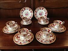 ROYAL ALBERT ENGLAND LADY HAMILTON - 18- Parts Coffee Service for 6 persons