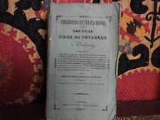 Cherbourg et ses environs par Vallée et Fleury. Guide. 1839. Rare