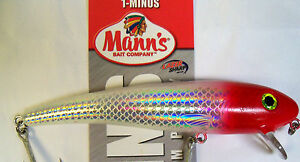 """MANNS BAIT COMPANY 1 - MINUS MAGNUM STRETCH 4 oz FISHING LURE - DIVES UP TO 12"""""""