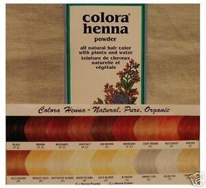 Colora Black Henna Powder 60g
