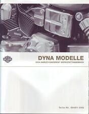 HARLEY Reparaturhandbuch 2004 FXD Dyna Super Glide DEUTSCH Buch Anleitung NEU