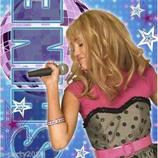 HANNAH MONTANA LARGE NAPKINS (16) ~ Birthday Party Supplies Dinner Luncheon Blue
