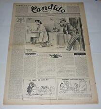 RIVISTA CANDIDO settimanale del sabato GUARESCHI -- anno 3 n 27 (1947)