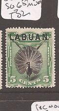 Labuan 1894 5c Bird SG 65 MOG (2cak)