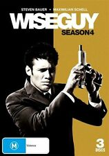 Wiseguy : Season 4 (DVD, 2009, 3-Disc Set) - Region 4 DVD
