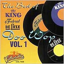Best of King, Federal & Deluxe: Doo Wop, Volume 1 NEW CD
