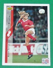 FOOTBALL CARD UPPER DECK 1994 USA 94 ALAIN SUTTER SUISSE HELVETIA SCHWEIZ