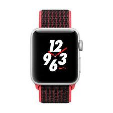 Apple Watch Series 3 Nike+ 2017 38mm silber Alu GPS+Cellular Smartwatch iOS pink