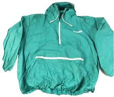 Glamour Vintage Teal Rain Jacket Pullover One Size Fits All