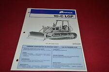 Fiat Allis Chalmers 10-C LGP Crawler Tractor Dealer's Brochure DCPA2