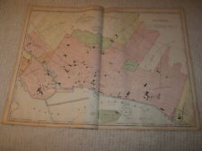 Vintage 1901 Montreal Canada Map Rand McNally Business Atlas Double Page
