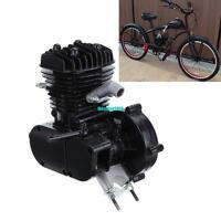 50cc 2-Stroke Bike Cycle Petrol Gas Black Engine Motor for Motorized Bicycle