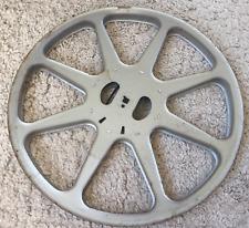Ancienne bobine métal cinéma diam 35,5 cm 600m pour film 16mm movie reel