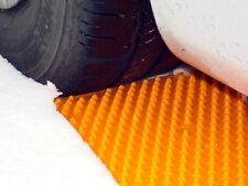 2 Pcs Emergency Tire Traction Mat Grip Pad Snow Ice Mud Portable Tow Truck Safe
