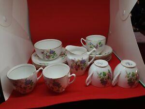 Vintage Duchess bone china tea set 18 pieces. Afternoon teas/ wedding