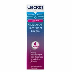 Clearasil Rapid Action Treatment Cream 4hour Reduce Spot  Rednes - 25 ml