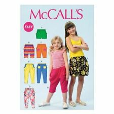 McCall's Patterns MC6950 Childrens Girls Shorts and Pants Size 3-6 CCE