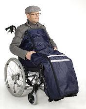 Rollstuhlsack Schlupfsack Regenschutz Schlupfsack mit Reflektionsstreifen !
