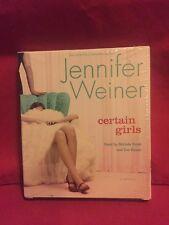 CERTAIN GIRLS by Jennifer Weiner NEW CD/SPOKEN WORD AUDIO BOOK Sealed Box Set