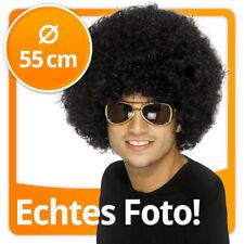 Atze Schröder Set Fanpaket Lockig Afro Perücken & Bärte Pilotenbrille Perücke Karneval Fasching