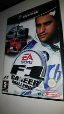 * Nintendo Gamecube Game * F1 CAREER CHALLENGE  * Cube Wii FORMULA 1 ONE N