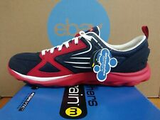 NIB NEW In Box Rare Skechers Go Train Navy Red Size 12 Mens Running Shoes D37