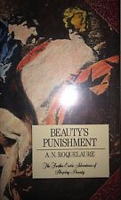 BEAUTY'S PUNISHMENT BY A.N. ROQUELAURE *SIGNED*FIRST ED*ANNE RICE*