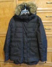 Women's L-RL Lauren Ralph Lauren down puffer fur hooded coat size S NWT $300