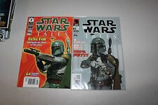 DARK HORSE COMICS STAR WARS TALES ISSUES #7 and #18 BOBA FETT PHOTO COVERS