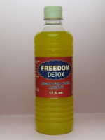 FREEDOM DETOX DRINK,17oz.Punch, 5 panel test,Cleanse Body,Drug clean test.toxin.